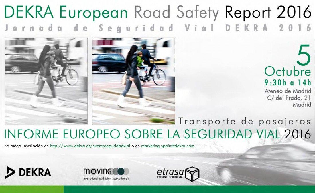 informe dekra de seguridad vial 2016