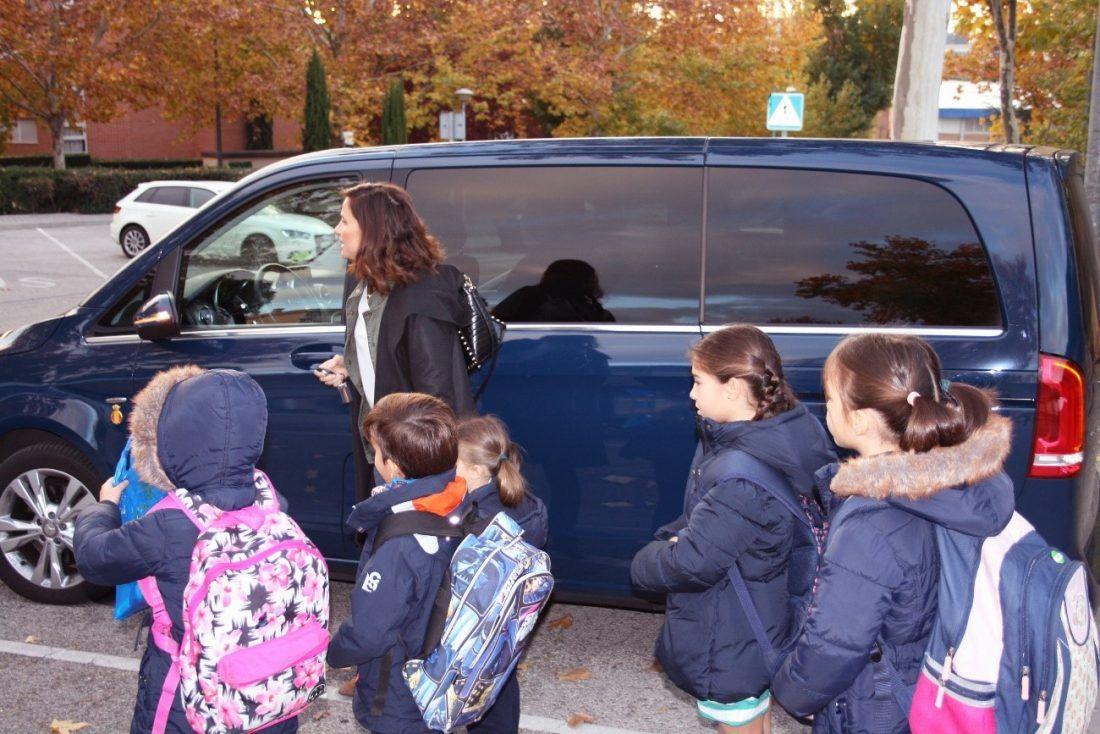 Compartir coche niños, rivemove, seguridad