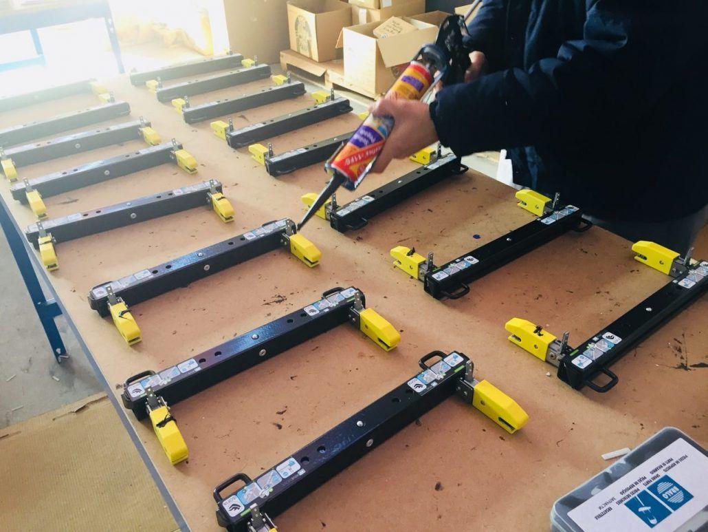 Producción Rivemove de Rivekids fabricado en España