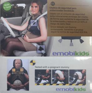 emobikids, una variación al cinturón de seguridad para embarazadas