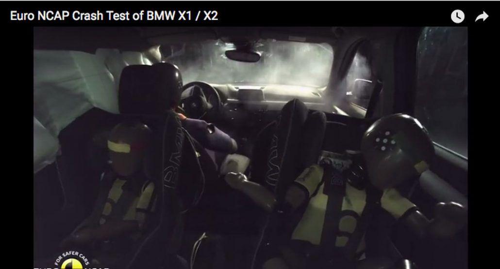 video Euro NCAP bmw x1