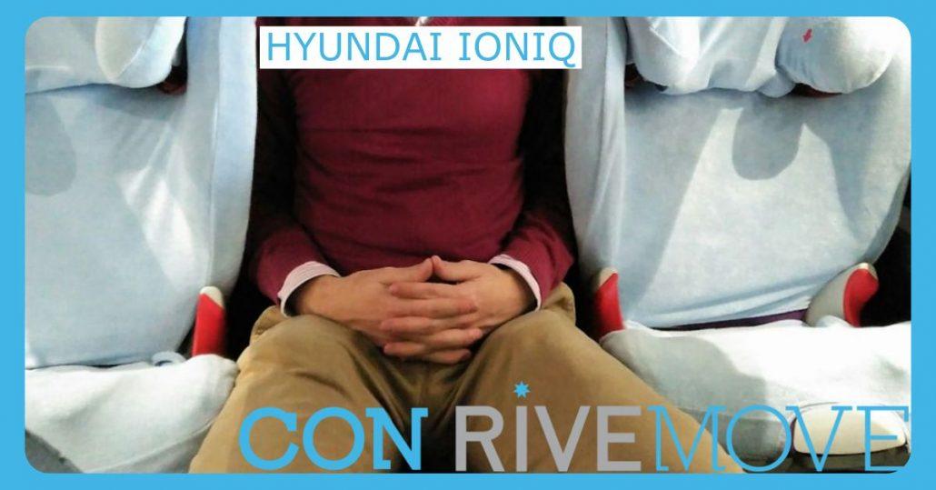 como viajar entre dos sillas en un hyundai ioniq con rivemove