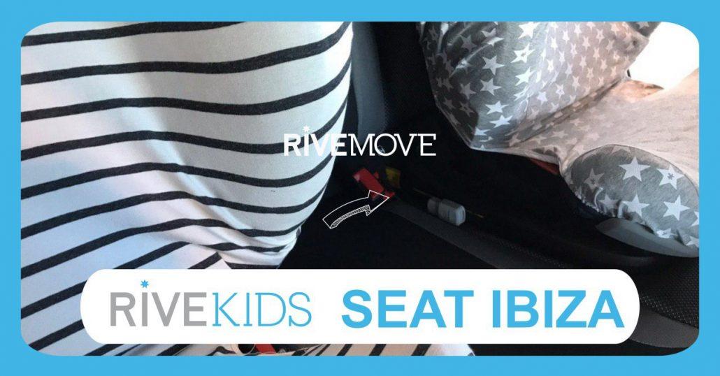viajar con dos sillas con rivemove en un seat ibiza
