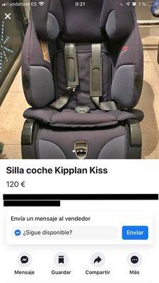 alquiler sillas de coche para niños sevilla