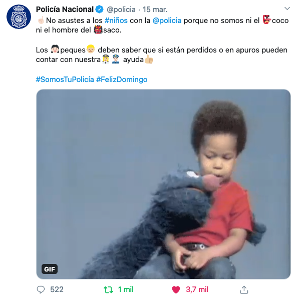 tuit_policia_nacional_coronavirus_rivekids