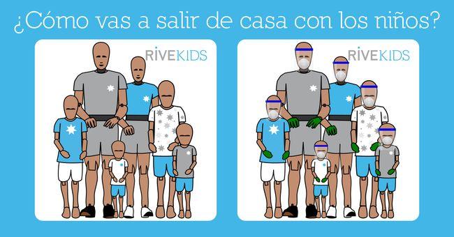 coronavirus niños rivekids