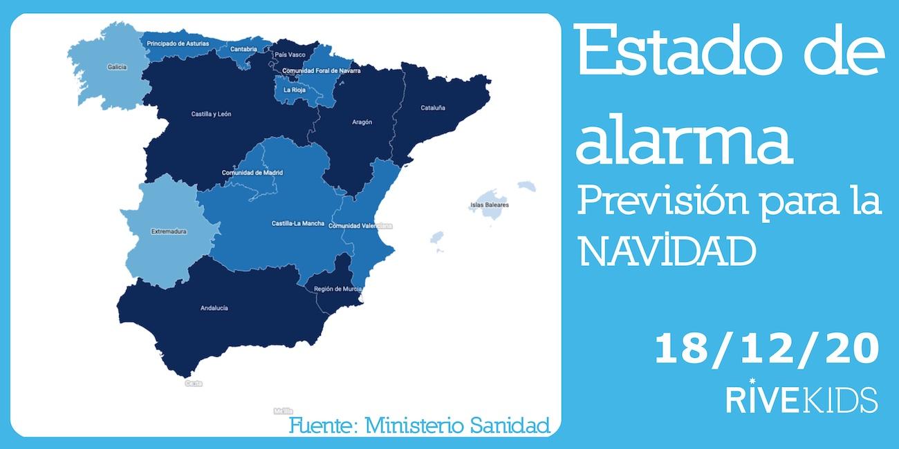 restricciones_navidad_españa_rivekids